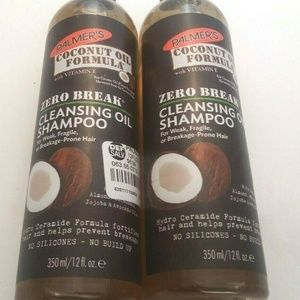 2 Palmer's Coconut Cleansing Oil Shampoo